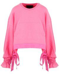 RED Valentino Redvalentino The Black Tag Sweatshirt - Pink