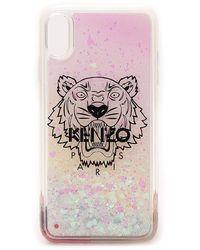 KENZO Tiger Logo Iphone Xs Max Case - Pink