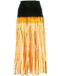 Proenza Schouler Tie-dye Maxi Skirt - Multicolour
