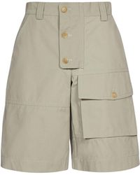 Jacquemus Laurier Workwear Shorts - Green