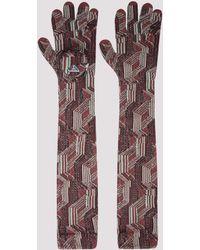Prada Wool Gloves - Multicolour