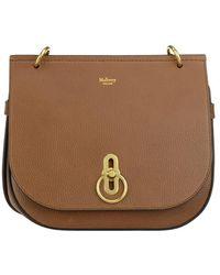 Mulberry Amberley Satchel Bag - Brown
