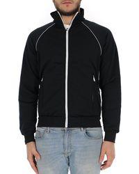 Prada Logo Track Jacket - Black
