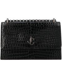 Jimmy Choo Bohemia Embossed Clutch Bag - Black