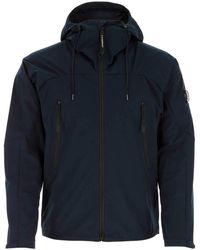 C.P. Company Zip-up Hooded Jacket - Blue
