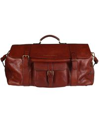 Brunello Cucinelli Buckle Detail Travel Bag - Brown