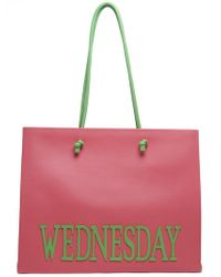 Alberta Ferretti - Large Rainbow Week Wednesday Tote - Lyst