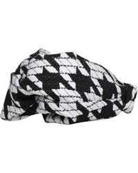 Maison Michel Carolyn Knot-detailed Headband - Black