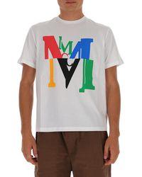 MCM Logo Print T-shirt - White