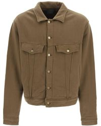 Fear Of God French Terry Jacket - Brown