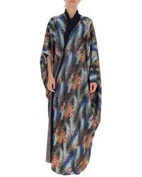 Missoni Patterned Long-line Cardigan - Multicolour