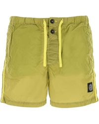 Stone Island Shell Swim Shorts - Green