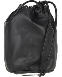 MM6 by Maison Martin Margiela 4-stitch Bucket Bag - Black