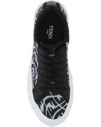 Fendi Ff Vertigo Sneakers - Black