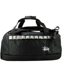 Stussy 2 Way Duffle Bag - Black