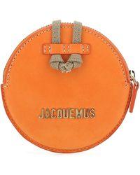 Jacquemus Le Pitchou Mini Crossbody Bag - Orange