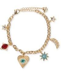 Swarovski Lucky Goddess Charms Bracelet - Metallic