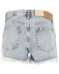 Polo Ralph Lauren Fringed Shorts - Blue