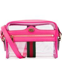 Gucci Ophidia Mini Shoulder Bag - Pink