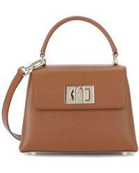 Furla 1927 Mini Top-handle Bag - Brown