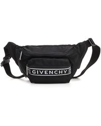 Givenchy Logo Belt Bag - Black