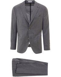Boglioli Two-piece Single-breasted Suit - Gray