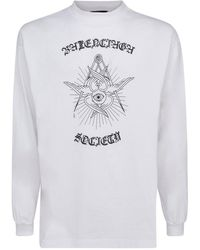 Balenciaga Logo Print T-shirt - White