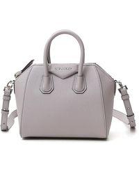 Givenchy Antigona Mini Tote Bag - Grey