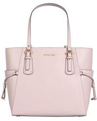 MICHAEL Michael Kors Small Voyager Tote Bag - Pink