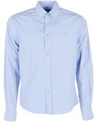Balenciaga - Embroidered Logo Shirt - Lyst