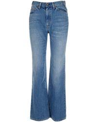 Valentino X Levi's Flared Jeans - Blue