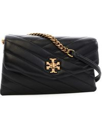 Tory Burch Kira Chain Crossbody Bag - Black