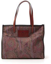 Etro Paisley Print Tote Bag - Multicolor