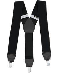 Comme des Garçons Clip On Suspenders - Only One Size / Black