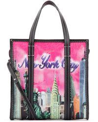 Balenciaga Bazar New York Shopper S - Pink
