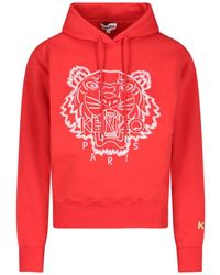 KENZO Chinese New Year Tiger Embroidered Hoodie