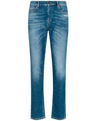 Off-White c/o Virgil Abloh Light Washed Skinny Jeans - Blue