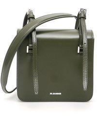 Jil Sander Holster Crossbody Bag - Green