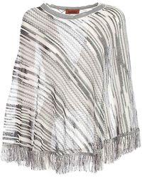 M Missoni Other Materials Poncho - White
