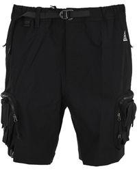 Nike Acg Belted Cargo Shorts - Black