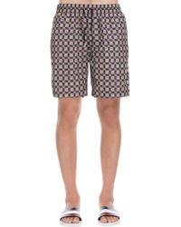 Burberry - Pattern Swim Pants - Lyst
