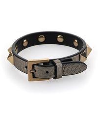 Valentino Garavani Rockstud All Over Bracelet - Grey