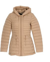 Woolrich Zip-up Hooded Jacket - Natural