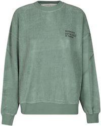 Golden Goose Logo Printed Crewneck Sweatshirt - Green
