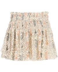 Étoile Isabel Marant Abstract Printed Shorts - Multicolor