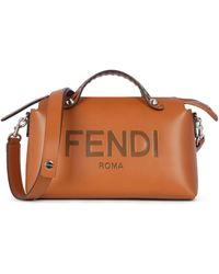 Fendi By The Way Medium Boston Bag - Brown
