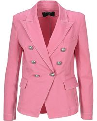 Balmain Denim Jacket - Pink
