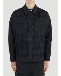 Li-ning Pleated Detail Jacket - Black