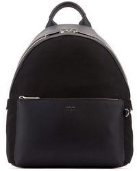 Fendi Ff Shoulder Strap Backpack - Black