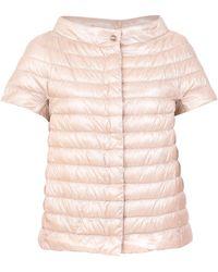 Herno Pink Greta Down Jacket